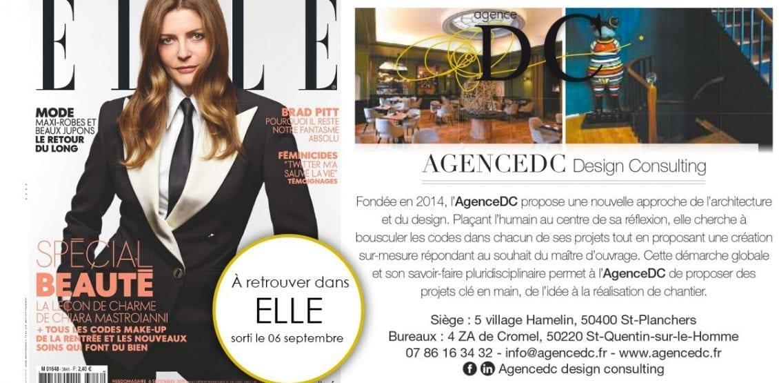 Agence DC dans le magazine ELLE
